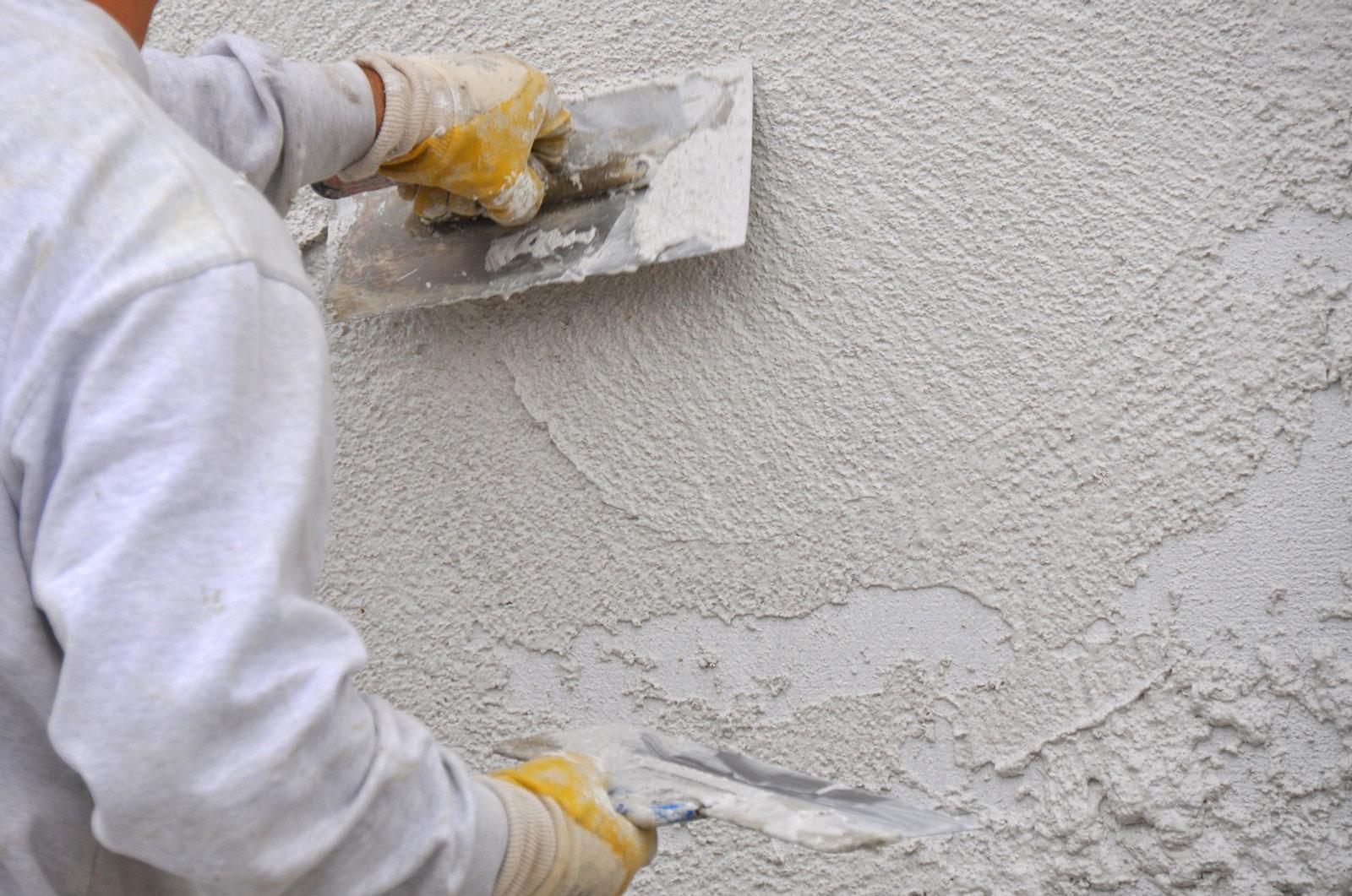 технология нанесения цементной штукатурки
